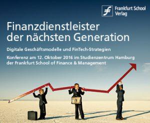 Finanzdienstleister der nächsten Generation am 12. Oktober in Hamburg