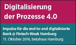 Euroforum-Konferenz Digitalisierung der Prozesse 4.0