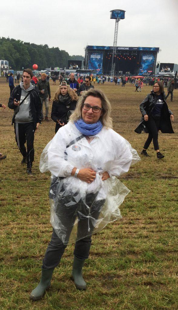 Inge Seibel beim Hurricane Festival 2017