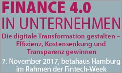 Finance 4.0 in Unternehmen