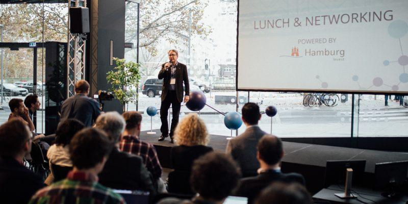 Stefan Klein beim Fintech Matters Summit in Wien