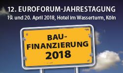 finletter ist Medienpartner der Euroforum-Jahrestagung Baufinanzierung 2018