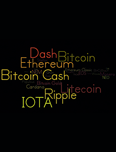 Die 30 größten Kryptowährungen