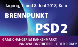Brennpunkt PSD2 Euroforum-Konferenz