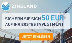 Zinsland Anzeige im finletter