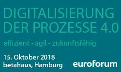 Digitalisierung der Prozesse 4.0
