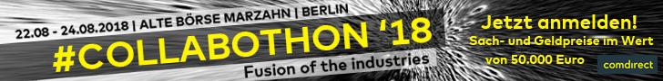 Jetzt anmelden zum Collabothon vom 22. bis 24. August in Berlin