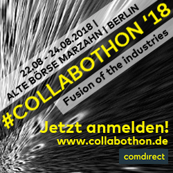 finletter ist Medienpartner des Collabothon 2018