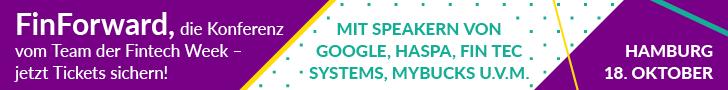 Kommen Sie zur FinForward, der Zukunftskonferenz vom Team der Fintech Week
