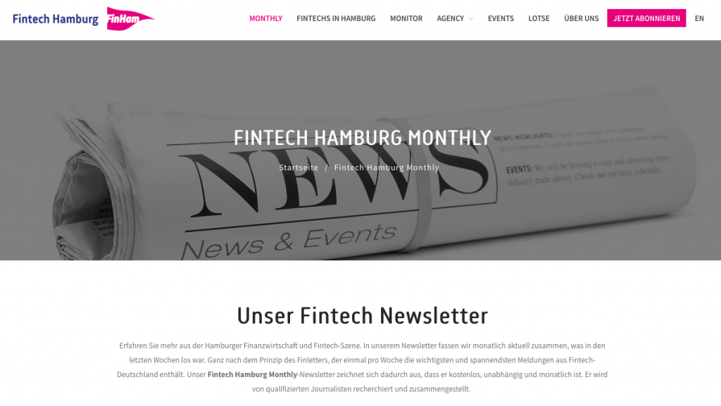 Fintech Hamburg Monthly