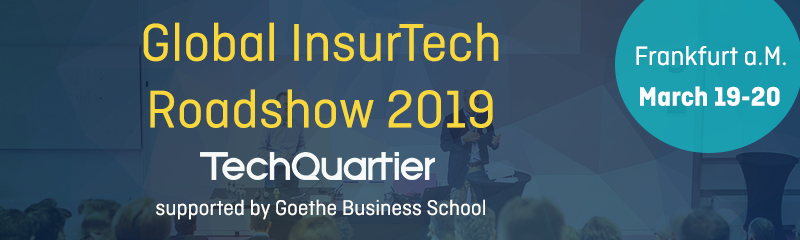 Global Insurtech Roadshow 2019 Anzeige