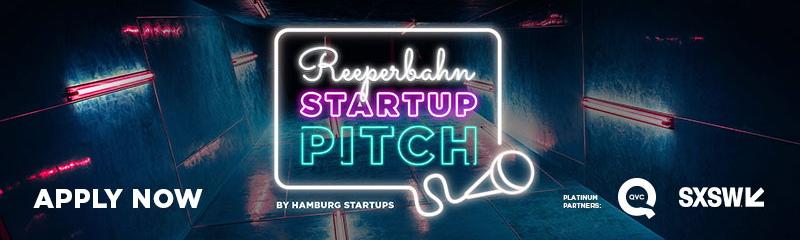 Reeperbahn Startup Pitch