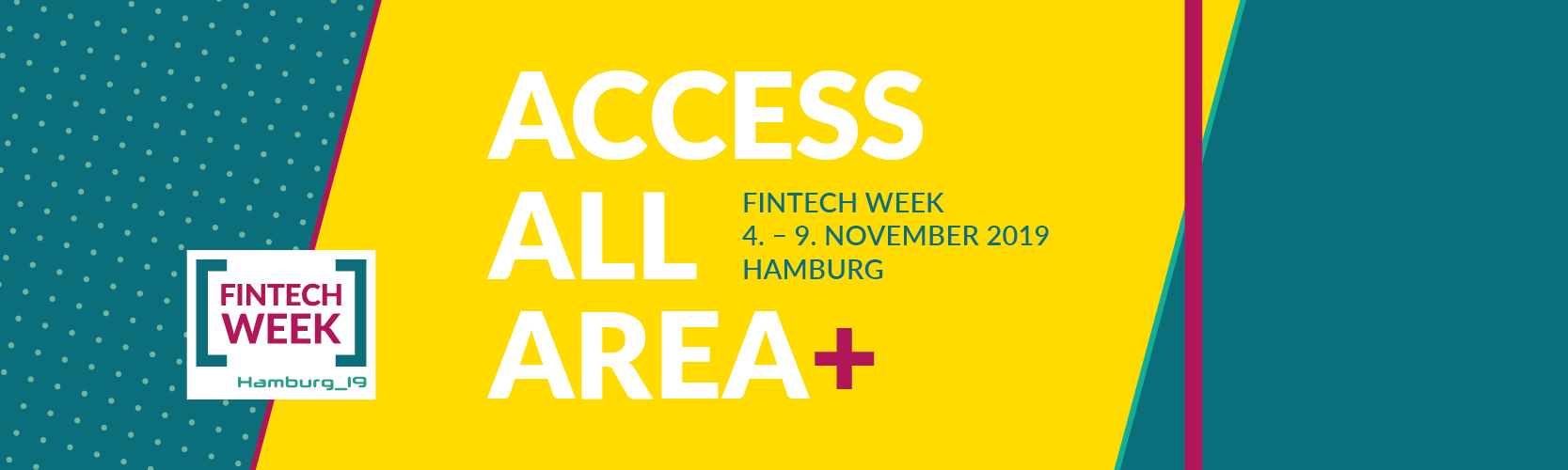 Access All Area Ticket für die Fintech Week 2019