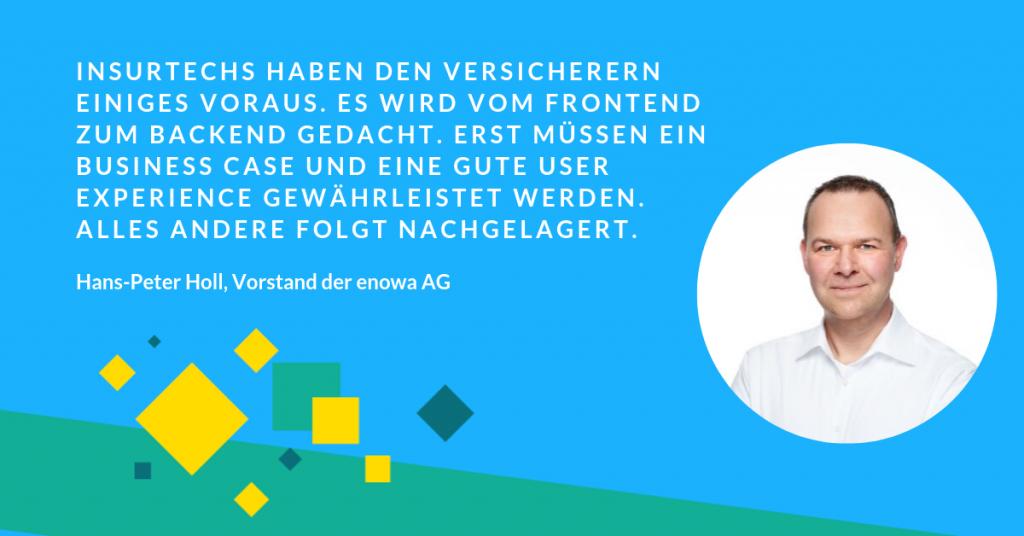 Hans-Peter Holl über Insurtech