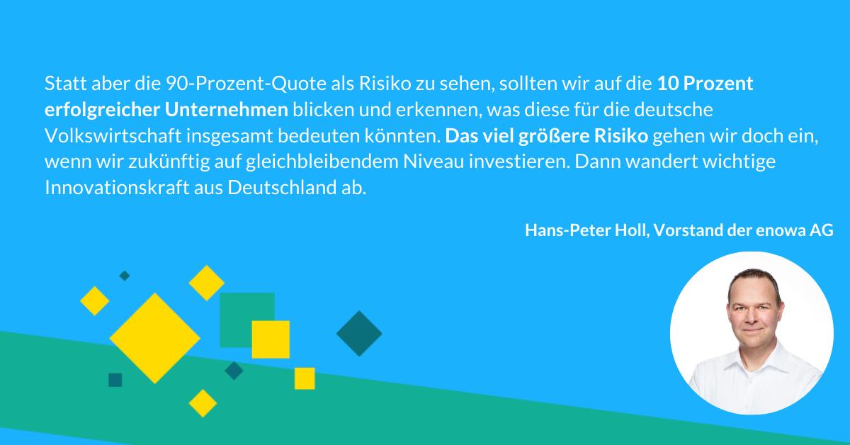 Insurtech Quartatt: Hans-Peter Holl über Scheitern