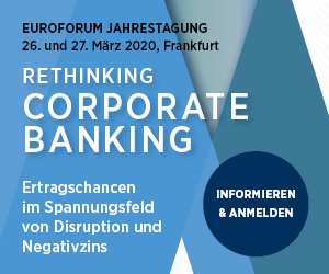 "finletter ist Medienpartner der ""Rethinking Corporate Banking 2020"""
