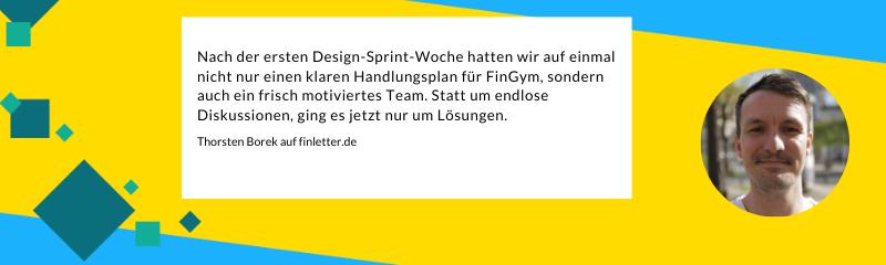 Gastbeitrag finletter Neonsprints zu Design Sprints