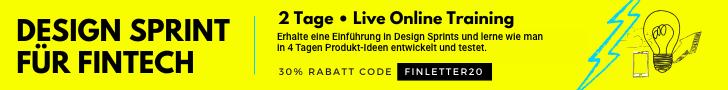Verpassen Sie nicht das neue digitale Format vom Team der Fintech Week: den Finbreak. Live wieder am 30. April