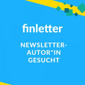 Finletter sucht Newsletter-Autor*in