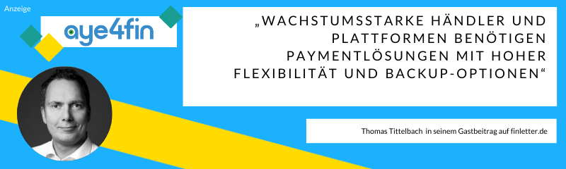 Thomas Tittelbach in seinem Advertorial zum Thema Agnostische Payment Orchestration