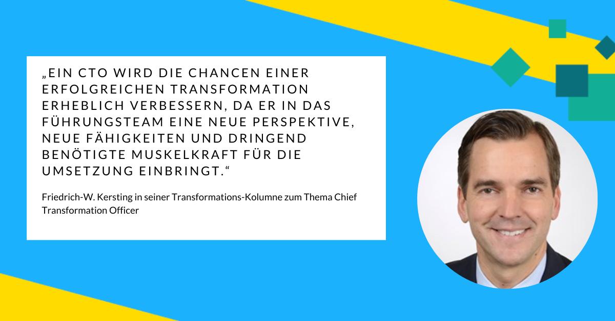 Friedrich-W. Kersting über die Funktion von CTOs