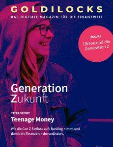 Titelbild der 10. goldilocks Ausgabe zur Generation Z