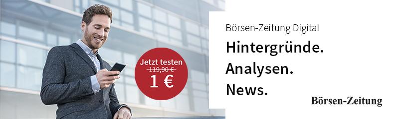 Börsen-Zeitung Werbung im finletter